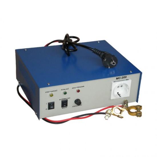 PRETVARAC 12/220 MC 200B(sa baterijom)Pretvaračinapona