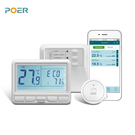 TERMOSTAT POER PTC/PTR/PTG(wifi, bežični)Termostati-senzori